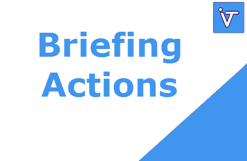 $ACTIONS (Actions) - Briefing Action du 21 octobre 2016